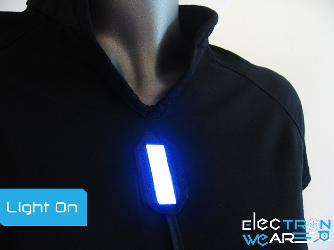 Light Shirt with the Light On.