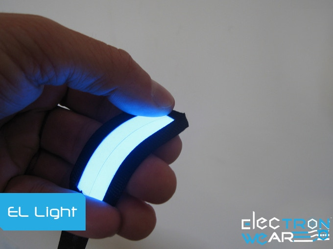 We Use Soft Flexible El Lights.