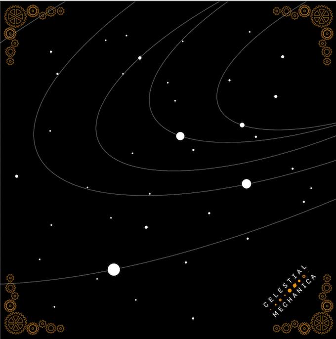 Celestial Mechanica Bandana Design