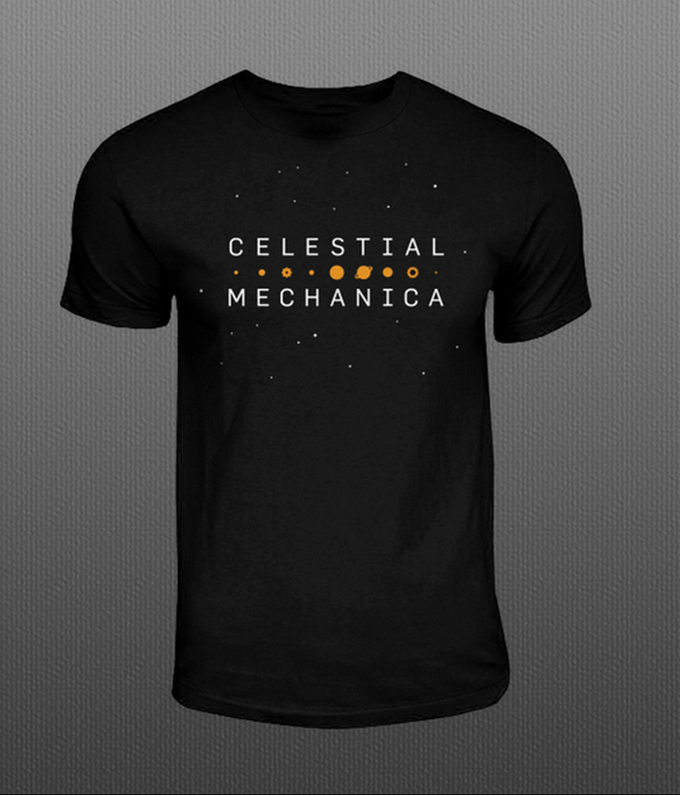 Celestial Mechanica Shirt Design