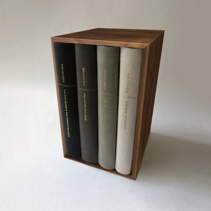 Solid Walnut Slipcase