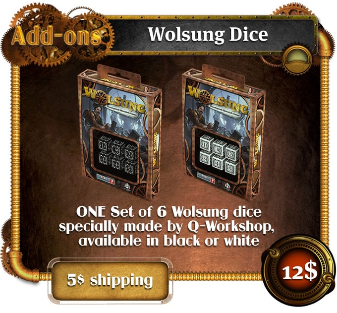 Add-ons - Wolsung Dice