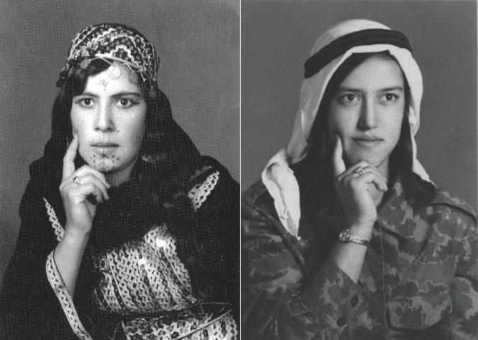 'Fatima Hammdo', from the Alkarsiffi family album, c. 1970s. collection of Diab Alkarssifi', A Lebanese Archive, Ania Dabrowska, 2013