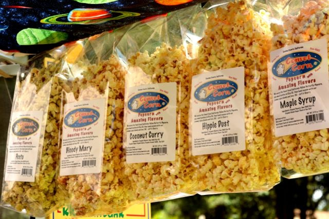 Comet Corn (in our retail packaging)
