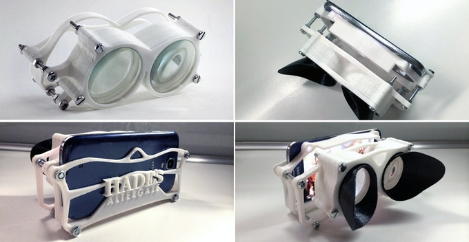 AlterGaze : 3D-printed mobile VR viewer