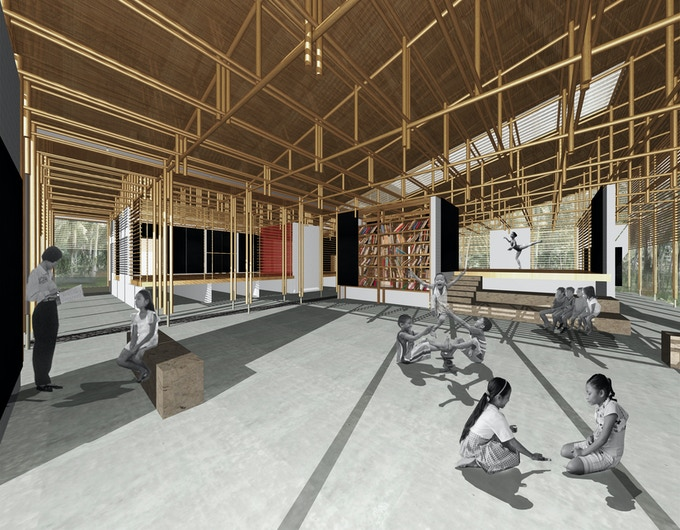 alternative classroom - semi-enclosed