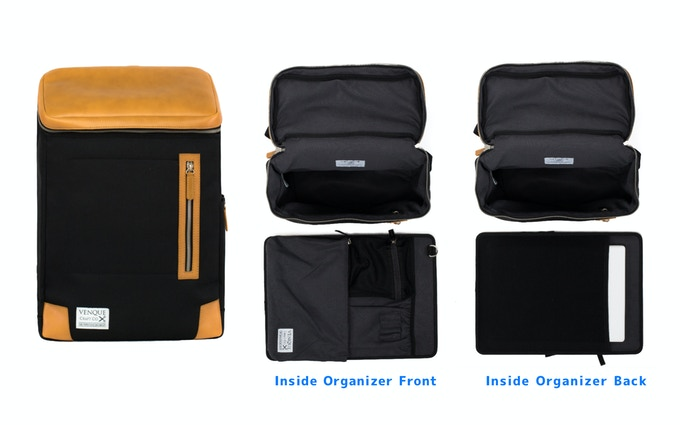 Inside Removable Organizer Helps You Keep Everything Clean