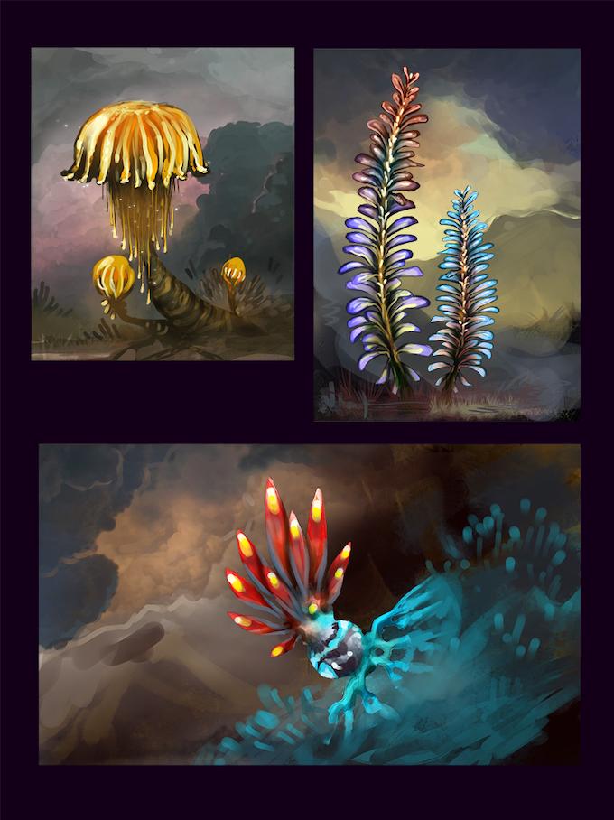 Alien plants