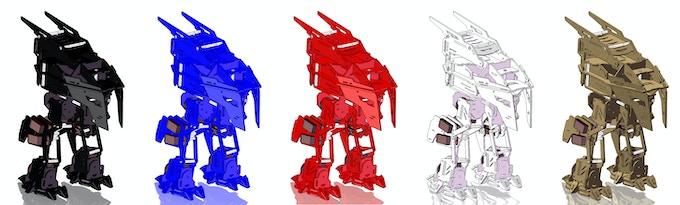 Rex Color Options