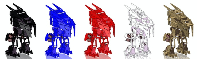 Rex Color Options