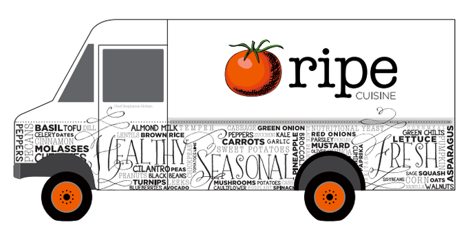 Imagine this truck catering your next event or riding along with us for a day!