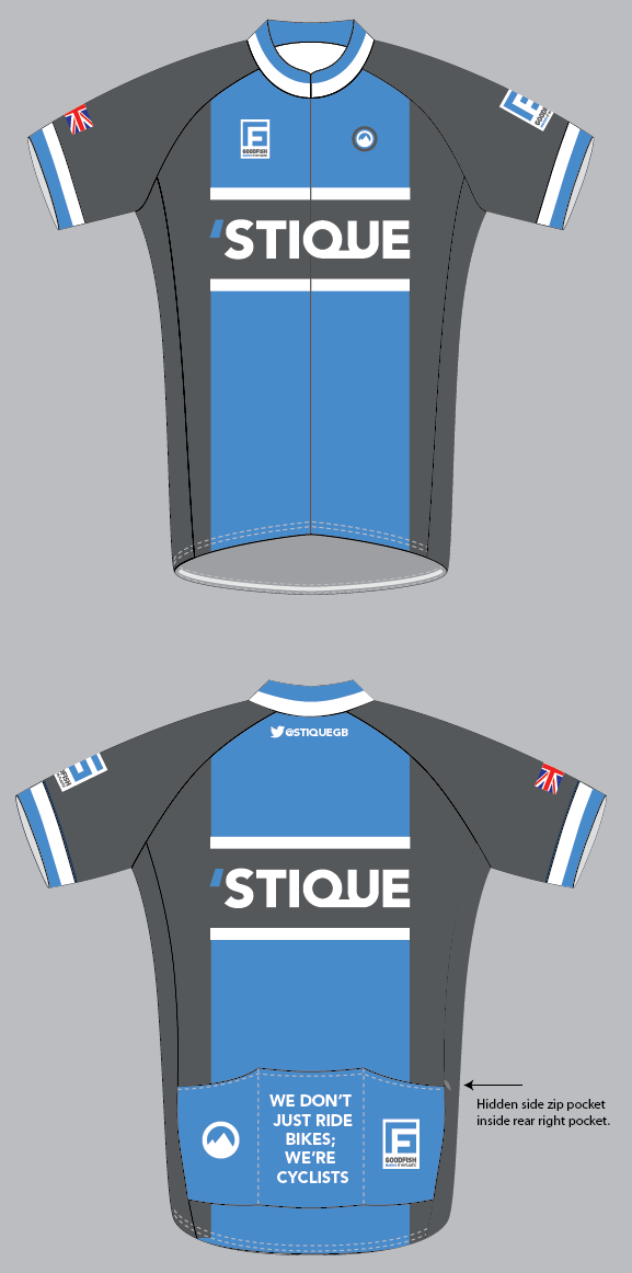 'Stique cycling jersey (by Milltag) - samples already delivered
