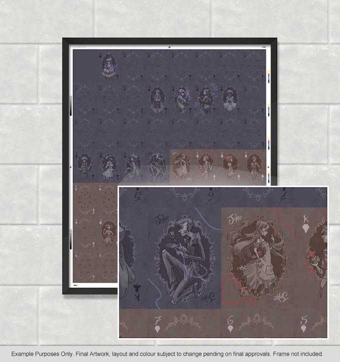 Olde Bones - Uncut Sheet Zoomed In