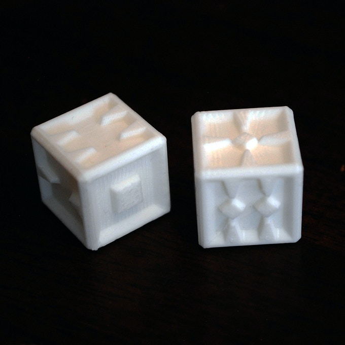 3D Printed Spike Dice