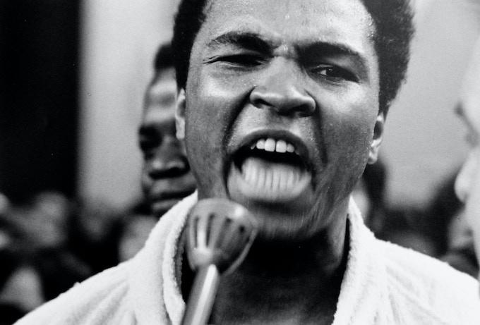 Muhammad Ali, Zurich © Charlie Phillips 1971