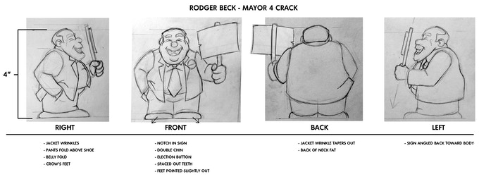 Early Sketches of Mayor4Crack