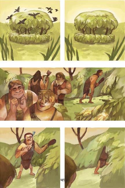 Romulus and Remus by Matthew Klippenstein and Ksenia Kozhevnikova