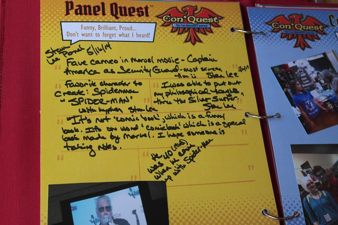 Panel Quest - You'll want to remember what Stan Lee said