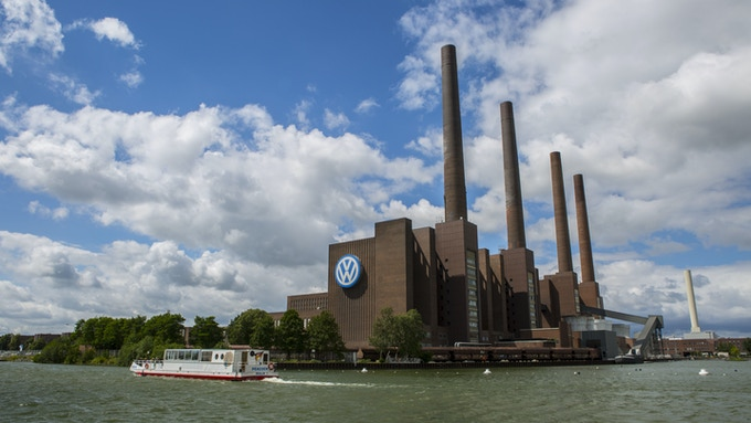 The factory in Wolfsburg.