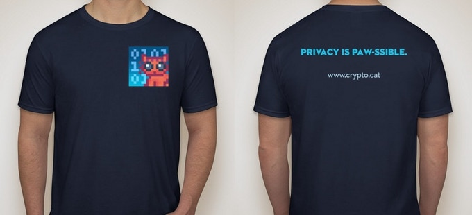 Cryptocat t-shirts!