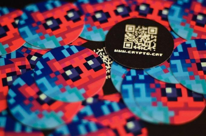 Cryptocat stickers!