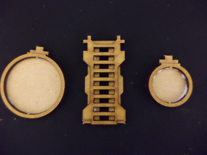 [SFO039] - 5 x ladders, 2 x 40mm stand, 4 x 25mm stand - 1 sheet