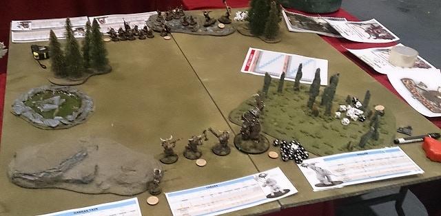 A Darklands battle about to begin