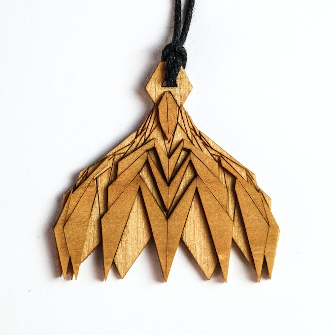 Lasercut Layered Wood Medallion! Yours when you pledge $40