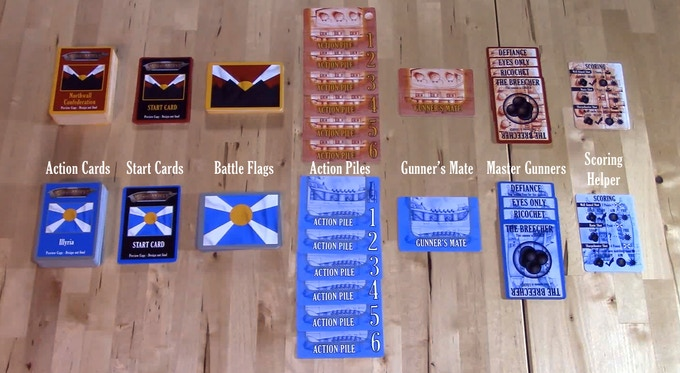 Game Components for Fire At Will!
