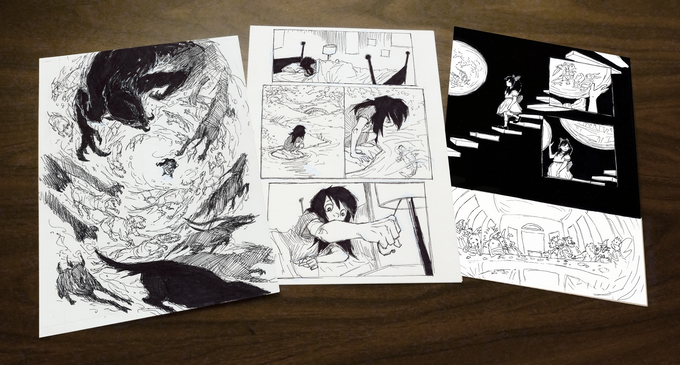 Original Inked Pages!