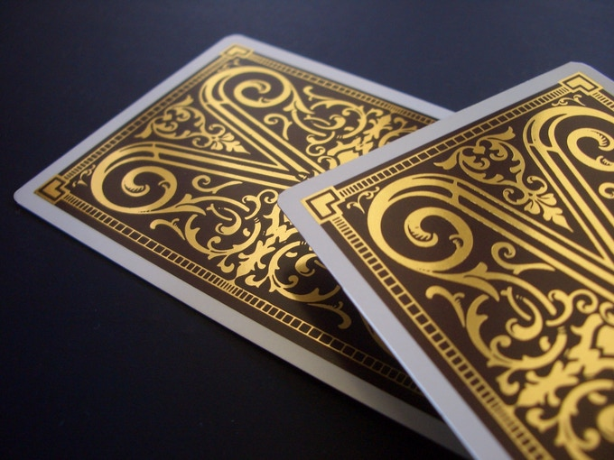 venexiana gold playing cards by united cardists �kickstarter