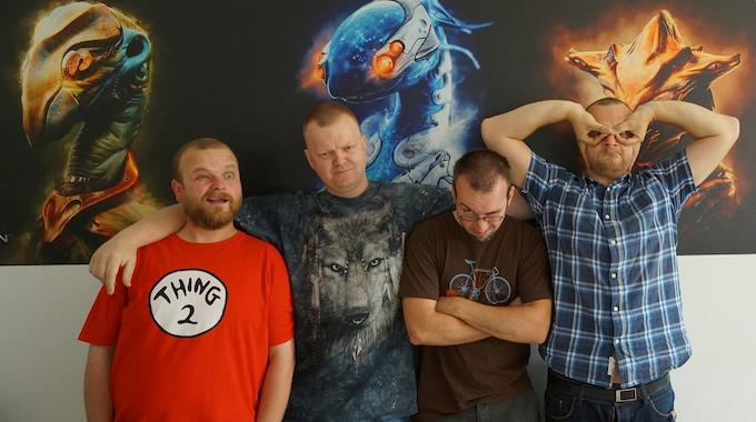from left - Sebastian Oliwa, Grzegorz Kalarus, Andrzej Sykut, Seweryn Piotrowski