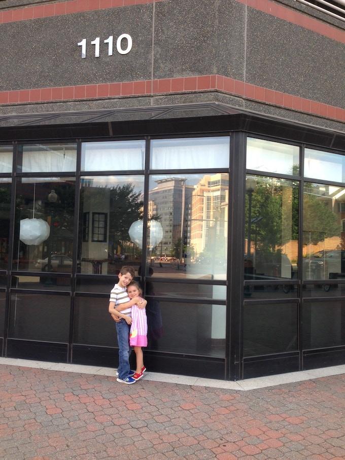 The Candon Kids at SER's facade