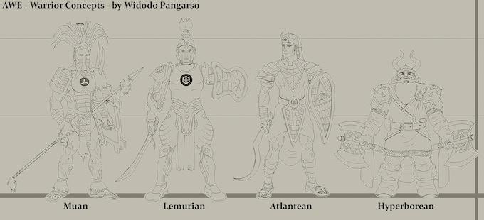 AWE Character Concepts