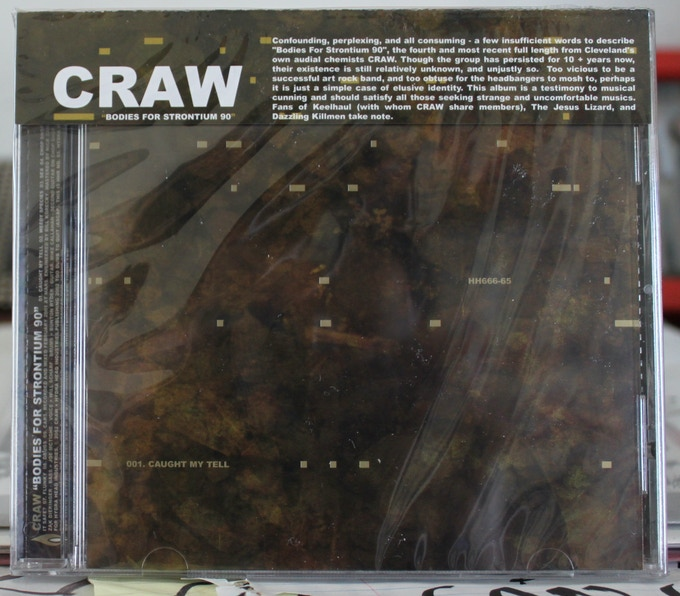 'Bodies for Strontium 90' CD