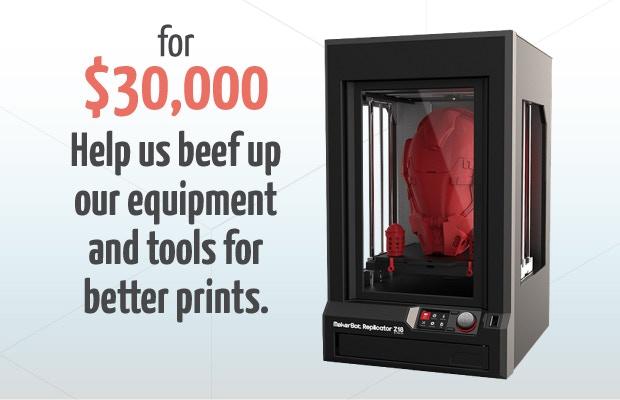 3Dponics $30,000 Stretch Goal