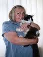 Sue Finden with Casper