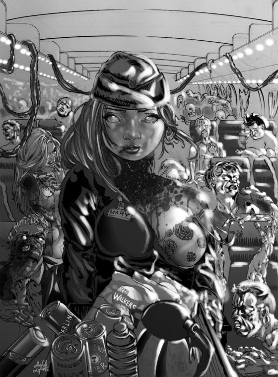 'Asswang' - written by John J Robinson, Artwork by Michele Laporta