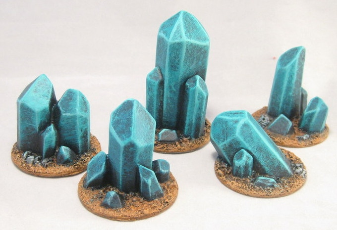 Giant crystal inserts