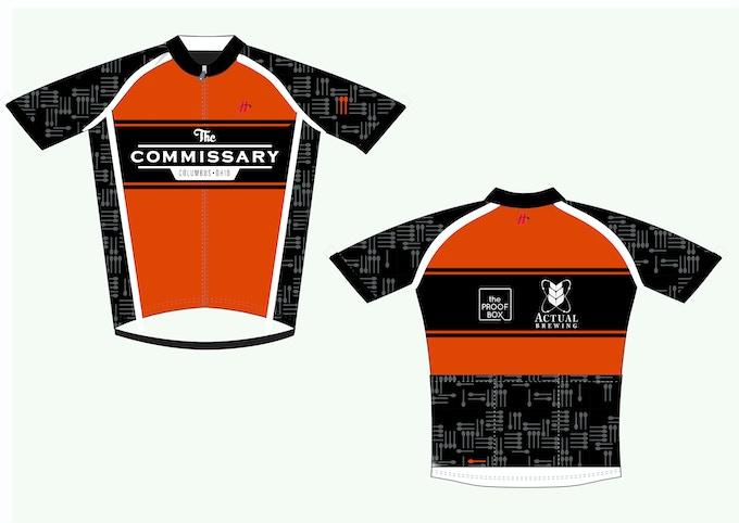 A cycling jersey!