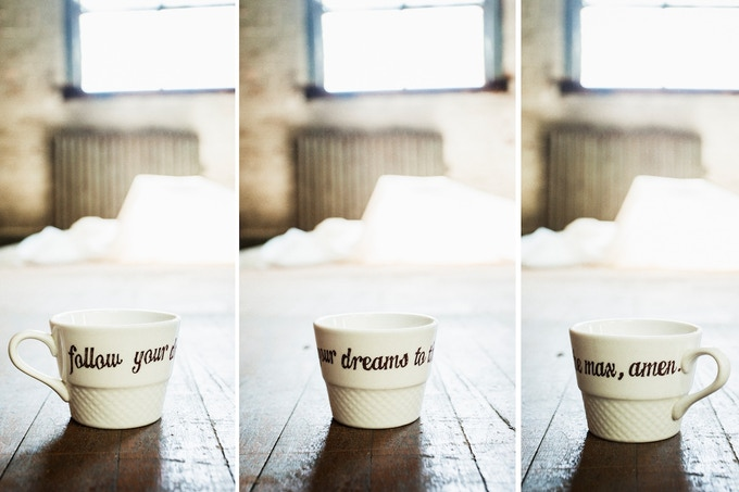 $75 - Decal Inspirational Mug