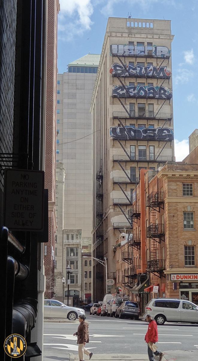 """Take a walk through Baltimore's graffiti scene with your copy of """"Baltimore Graffiti""""."""