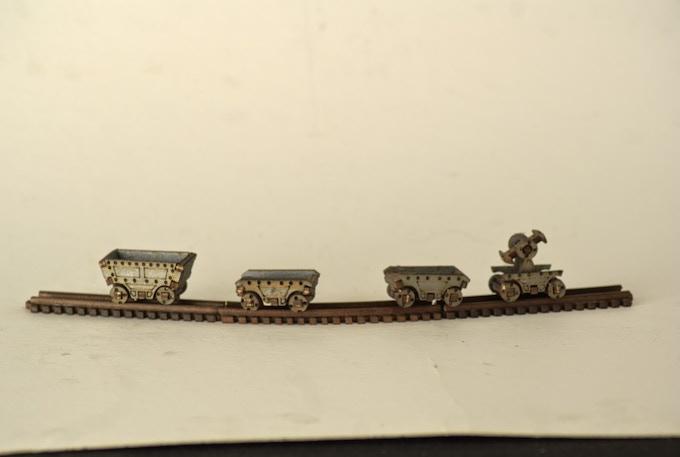 Mine Carts (including Flat cart and pump cart)