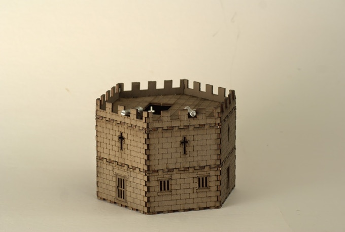 Martello Tower (Actually includes THREE cannons)