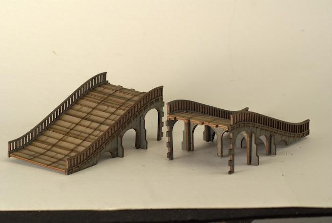Arched Bridge (taken apart to show alternative use)
