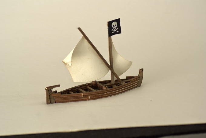 A Pirate Shallop