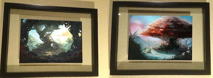 Framed Illustrations