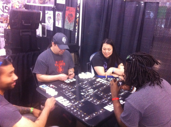 Demo at Wizard World Philly 2014