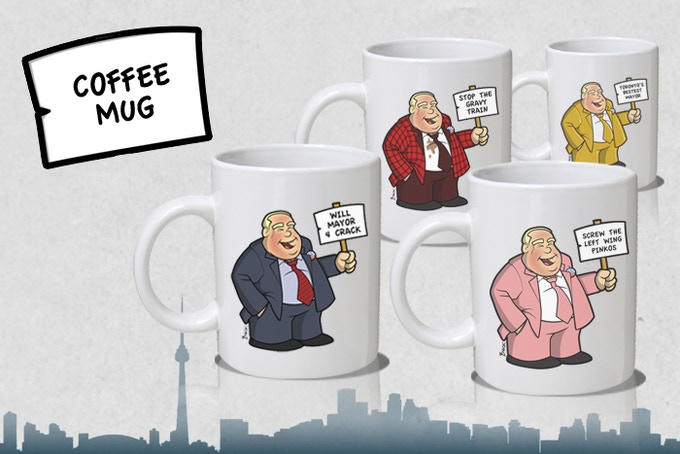 Mayor4Crack Coffee Mugs - Various Versions available. Add $15 to your pledge for each additional Mug.
