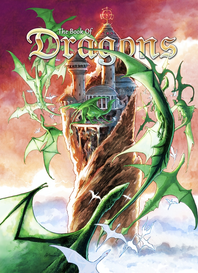 The Book of Dragons, Cover 1